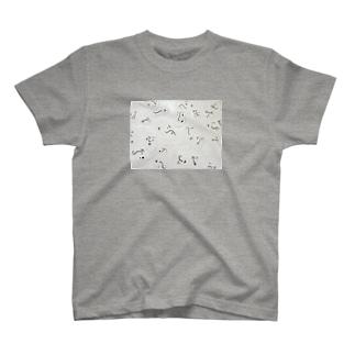 顔(おにぎり) T-shirts