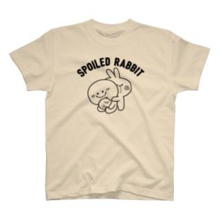 Spoiled Rabbit / あまえんぼうさちゃん Tシャツ
