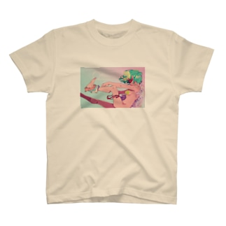 妄想ロゴ Tシャツ