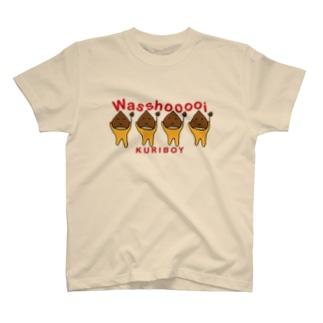 わっしょいくりぼーい Tシャツ