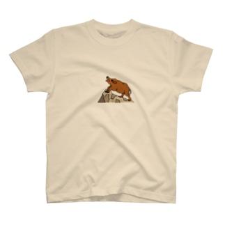 吠えろ イノブタ Tシャツ