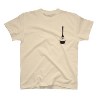 たぬきケーキめぐり Tシャツ