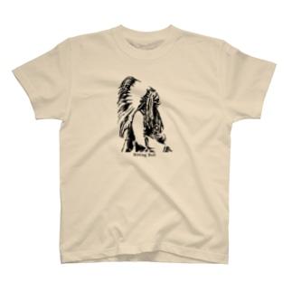 シッティング・ブル(タタンカ・イヨタケ) Sitting Bull, Tatanka Iyotake Tシャツ