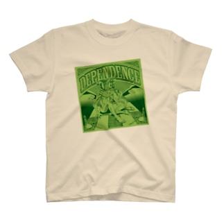 Dependence グリーン Tシャツ