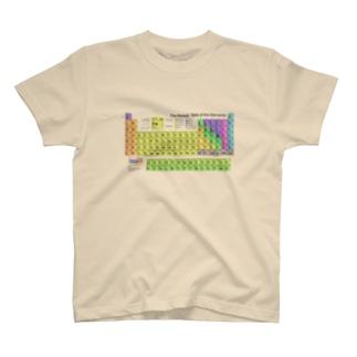 周期表 Tシャツ