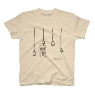 いすにすわりたい Tシャツ