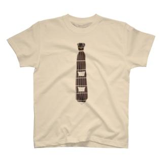 """""""ネック""""タイ Tシャツ"""
