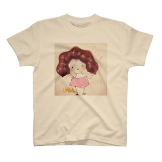 れいな ぽこ(ドーナツェルノ頭ver) Tシャツ