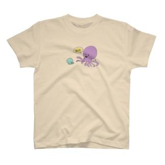 たこのおやこ Tシャツ
