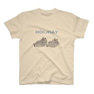 HOLIDAY ねこ Tシャツ