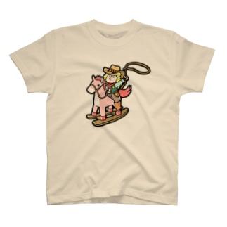 ライター・イラストレーターユニット「ケーン&モッチ」モッチ Tシャツ