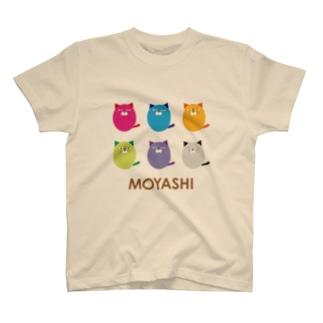 MOYASHI 6color Tシャツ