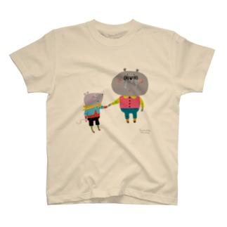 ぼくが手をつないでいるから Tシャツ
