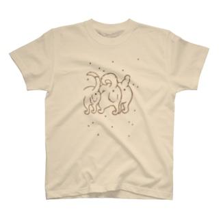 いぬけつバッテン Tシャツ