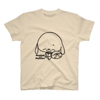 うさきちとぴよすけ その3 Tシャツ