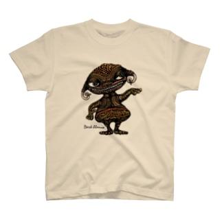 """Dark blanco """"Monster 3"""" Tシャツ"""