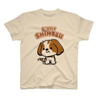 ゆるかわシーズーTシャツ#1 Tシャツ