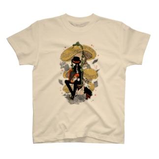 森の演奏家 Tシャツ