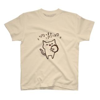 タンバリンねこさん Tシャツ