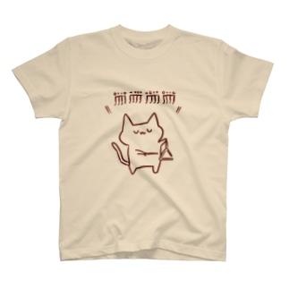 トライアングルねこさん Tシャツ