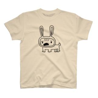 うさちゃんパグ Tシャツ