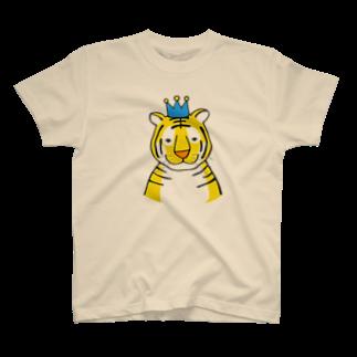 motoko torigoeのトラ3Tシャツ
