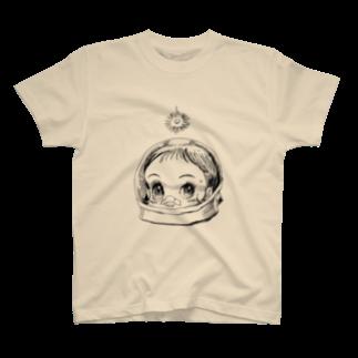 ヤノベケンジアーカイブ&コミュニティのヤノベケンジ《サン・チャイルド》(太陽の子)Tシャツ