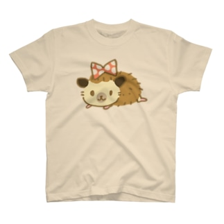 りぼんはりねずみ Tシャツ