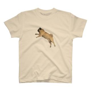 パグのもぐお Tシャツ