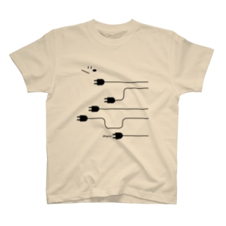 plug in ! (No.4) Tシャツ