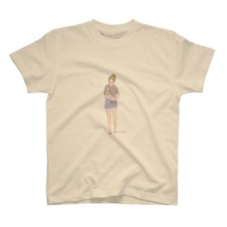 ちらりTシャツ Tシャツ