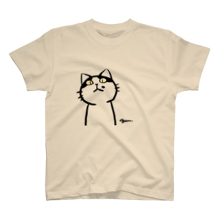 牛柄猫 Tシャツ