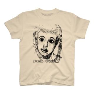 キャラメルポップコーン Tシャツ