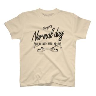 普通の日 Tシャツ