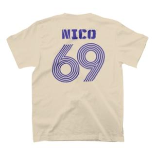 NicoRock 2569のNICO69 T-shirtsの裏面