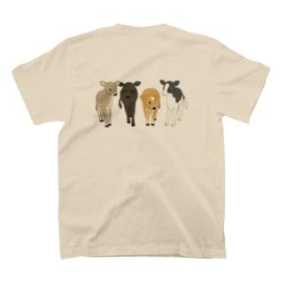 なかよしT(バックプリント) T-shirts