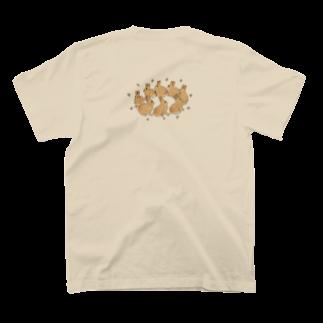 SCHINAKO'Sのラビットクラウン T-shirts