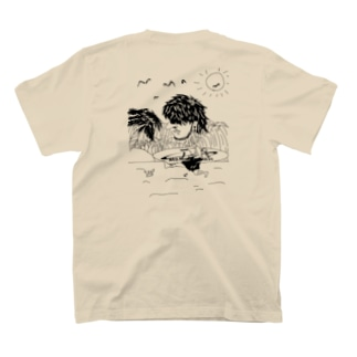 夏、海、浜、サーフィン T-shirts
