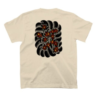 お花もんもん T-shirts