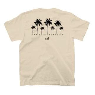 〔Back Print〕 Palm tree T-shirts