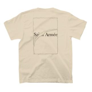 SAINT ARMÉE クラックトンボ ロゴ T-shirts