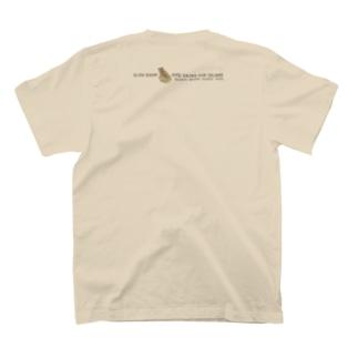 しまのなかまSLOW サキシマヌマガエル(バックプリント) T-shirts
