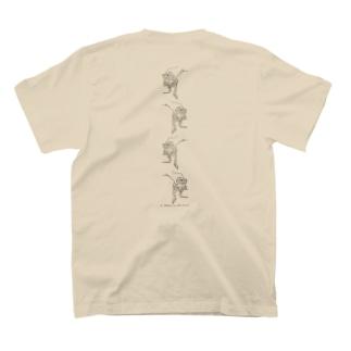 4連オオヒキガエル(交互) T-Shirt