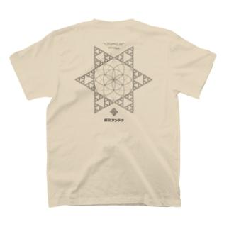 JOMON ANTENNA(両面) T-shirts