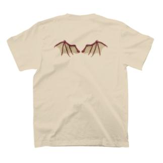 ドラゴンの羽 T-shirts