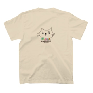 ODORERUバックプリント T-shirts