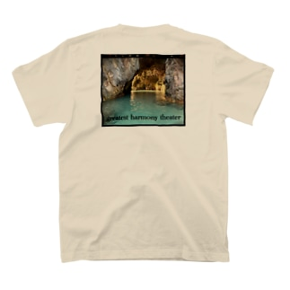 真知子のサメじゅーちゃん T-shirtsの裏面