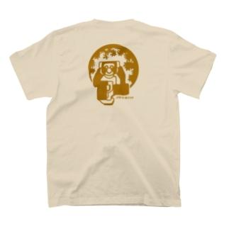 aniまる チンパンジー /バックプリント/ T-shirt T-shirts
