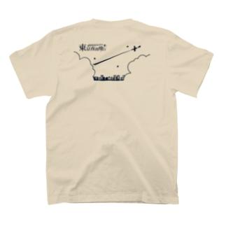 東京夜間飛行:ロゴ飛行機 T-shirts