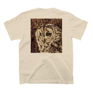 木のぬくもり フクロウ T-Shirt